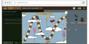 Banana Tales – A Game-based Python Course For Kids Ages 11-13